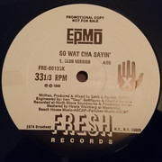 12inch Vinyl Single - Epmd - So Wat Cha Sayin'