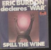 7'' - Eric Burdon And War - Spill The Wine