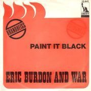 7inch Vinyl Single - Eric Burdon & War - Paint It Black