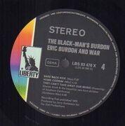 Double LP - Eric Burdon & War - The Black-Man's Burdon
