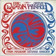 Double CD - Eric Clapton And Steve Winwood - Live From Madison Square Garden