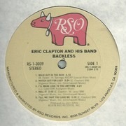 LP - Eric Clapton - Backless