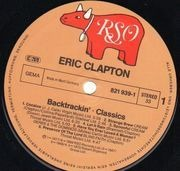 Double LP - Eric Clapton - Backtrackin'