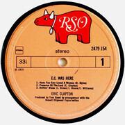 LP - Eric Clapton - E.C. Was Here