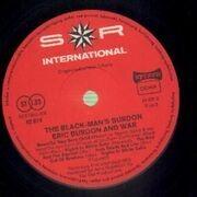 Double LP - Eric Burdon And War - The Black-Man's Burdon - Sonderauflage, Gatefold sleeve