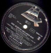 LP - Eric Burdon & War - Eric Burdon Declares 'War'