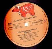 LP - Eric Clapton - Backless - Club-Sonderauflage