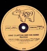 LP - Eric Clapton - Backless