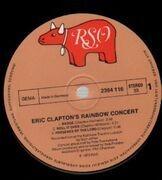 LP - Eric Clapton - Eric Clapton's Rainbow Concert