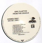 LP - Eric Clapton - From The Cradle - original