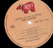 Double LP - Eric Clapton - The History Of Eric Clapton