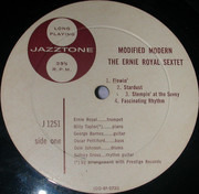 LP - Ernie Royal And Lucky Thompson - Modified Modern