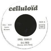 7inch Vinyl Single - Errol Dunkley - O.K. Fred