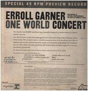 LP - Erroll Garner - One World Concert - Promo