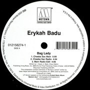12inch Vinyl Single - Erykah Badu - Bag Lady