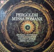 LP - Pergolesi - Collegium Aureum ; Ireneu Segarra - Missa Romana - Quadraphonic Recording