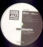 12inch Vinyl Single - Esperanto - Only A Miracle