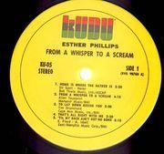LP - Esther Phillips - From A Whisper To A Scream
