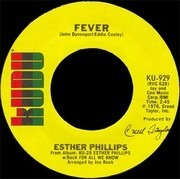 7inch Vinyl Single - Esther Phillips - For All We Know / Fever