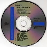 CD - Europe - Out Of This World