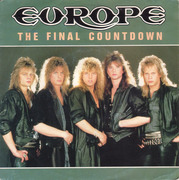 7inch Vinyl Single - Europe - The Final Countdown