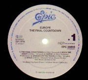 LP - Europe - The Final Countdown