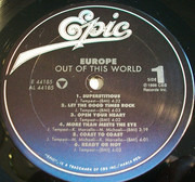 LP - Europe - Out Of This World
