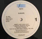 12inch Vinyl Single - Europe - Sweet Love Child