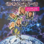LP - Europe - The Final Countdown - Embossed Sleeve