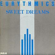 7inch Vinyl Single - Eurythmics - Sweet Dreams - gray sleeve