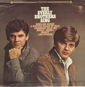 LP - Everly Brothers - The Everly Brothers Sing