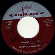 7'' - Everly Brothers - Devoted To You / Bird Dog