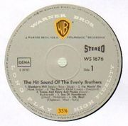 LP - The Everly Brothers - The Hit Sound Of