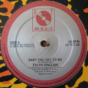 12inch Vinyl Single - Evlin Sinclair - Baby You Get To Me