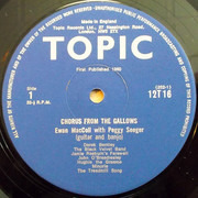 LP - Ewan MacColl With Peggy Seeger - Chorus From The Gallows