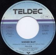 7inch Vinyl Single - Falco - Wiener Blut