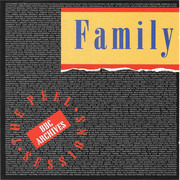 CD Single - Family - Peel Sessions : Live at BBC 1973