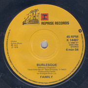 7inch Vinyl Single - Family - Burlesque