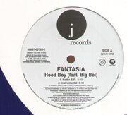 12inch Vinyl Single - Fantasia - Hood Boy - Promo