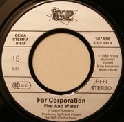 7inch Vinyl Single - Far Corporation - Fire And Water / You Are The Woman