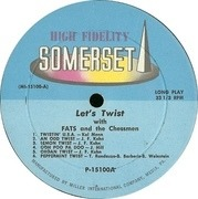 LP - Fats And The Chessmen - Come On Everybody - Let's Do The Twist