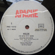 12inch Vinyl Single - Félix Sutor - Itsi Bitsi Petit Bikini