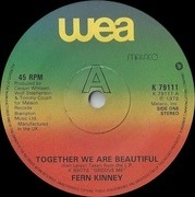 7inch Vinyl Single - Fern Kinney - Together We Are Beautiful - Solid Centre