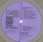 LP - Finbar & Eddie Furey - The Dawning Of The Day - Originnal 1st UK, Textured Cover