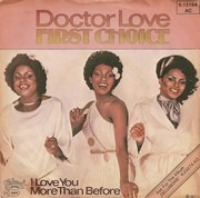 7inch Vinyl Single - First Choice - Doctor Love
