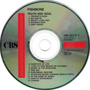 CD - Fishbone - Truth And Soul