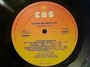 LP - Fleetwood Mac - Greatest Hits