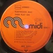 LP - Fleetwood Mac - Then Play On