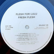 LP - Flesh For Lulu - Fresh Flesh