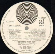 LP - Flied Egg - Good Bye - Original 1st Japanese, Pokora 2001